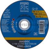 DUODISC E 150-3,5 PSF DUO STEELOX