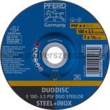 DUODISC E 180-3,5 PSF DUO STEELOX