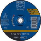 TISZTÍTÓKORONG E 230-7 PSF STEELOX