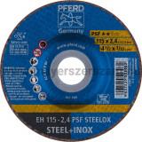 VÁGÓKORONG EH 115-2,4 PSF STEELOX