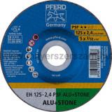 VÁGÓKORONG EH 125-2,4 PSF ALU+STONE