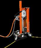 Husqvarna CS 10 kötélvágó rendszer, 2 kötélvezetős görgő