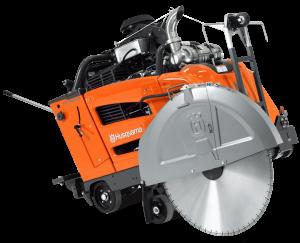Husqvarna FS 7000 DL aljzatvágó, 1500 mm-es tárcsavédővel termék fő termékképe