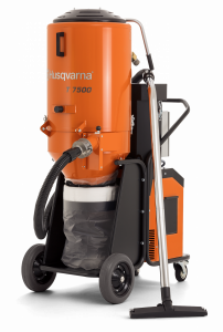Husqvarna T 7500 háromfázisú HEPA H13 építőipari porszívó termék fő termékképe