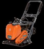 Husqvarna LF 100 LAT előre haladó lapvibrátoros tömörítő aszfalthoz és talajhoz, Honda motorral