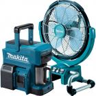 Makita Li-ion akkus ventilátorok, kávéfőzők