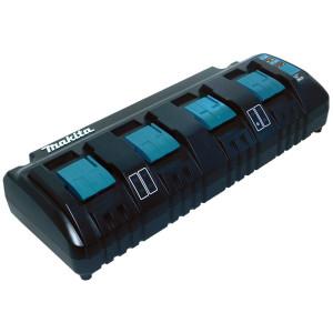 Makita DC18SF 14.4 V - 18 V LXT Li-ion négy portos akkumulátor töltő termék fő termékképe