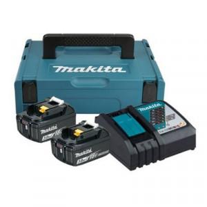 Makita 197952-5 akkumulátor csomag (2 x 3.0 Ah Li-ion akkuval, MAKPAC kofferben) termék fő termékképe