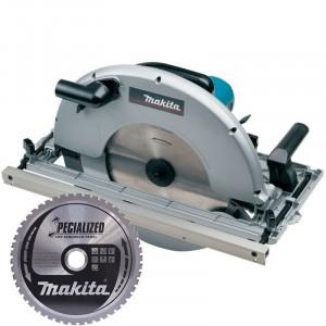 Makita 5143R körfűrész + körfűrészlap termék fő termékképe