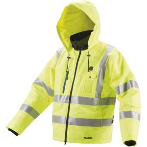 Makita CJ106DZL NEON akkus fűthető kabát (akku és töltő nélkül) termék fő termékképe