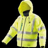 Makita DCJ206ZL NEON akkus fűthető kabát (akku és töltő nélkül)