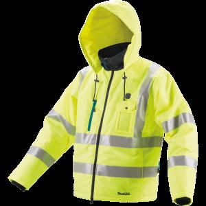 Makita DCJ206ZL NEON akkus fűthető kabát (akku és töltő nélkül) termék fő termékképe