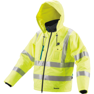 Makita DCJ206ZS NEON akkus fűthető kabát (akku és töltő nélkül) termék fő termékképe