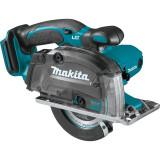 Makita DCS552Z akkus fémvágó körfűrész (akku és töltő nélkül)