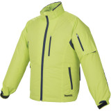 Makita DFJ212ZL NEON hűthető kabát (akku és töltő nélkül)