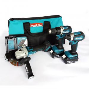 Makita DLX3125TX1 szénkefe nélküli akkumulátoros gépcsomag (2 x 5.0 Ah Li-ion akkuval, szerszámtáskával) termék fő termékképe
