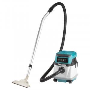 Makita DVC150LZ akkumulátoros és hálózati száraz-nedves porszívó (akku és töltő nélkül) termék fő termékképe