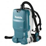Makita DVC665Z szénkefe nélküli akkumulátoros HEPA háti porszívó (akku és töltő nélkül)