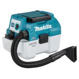 Makita DVC750LZ szénkefe nélküli akkus száraz-nedves porszívó (akku és töltő nélkül)
