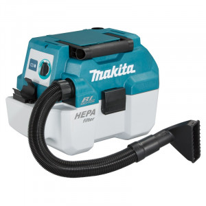 Makita DVC750LZ szénkefe nélküli akkus száraz-nedves porszívó (akku és töltő nélkül) termék fő termékképe