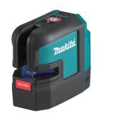 Makita SK105DZ 10.8 V CXT akkus keresztlézer, piros (akku és töltő nélkül)