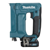 Makita ST113DSAJ akkus kapcsozó (2 x 2.0 Ah Li-ion akkuval, MAKPAC kofferben)