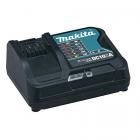 Makita DC10SA 10.8 V Li-ion akkumulátor töltő (gyors, 10.8 V és 12 V csúszóakkukkal kompatibilis)
