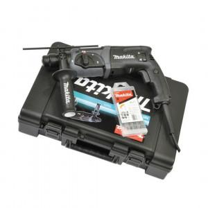 Makita HR2470BX40 SDS-plus fúró-vésőkalapács (kofferben) + fúrószár készlet termék fő termékképe