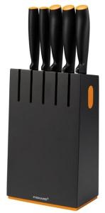 Functional Form késblokk 5 db késsel, fekete termék fő termékképe