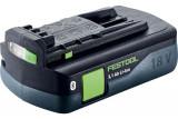 Festool BP 18 Li 3,1 CI Bluetooth® Li-ion akkumulátor, 18 V, 3.1 Ah