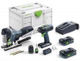 Festool T 18+3/PSC 420 I-Set akkus szerelőkészlet