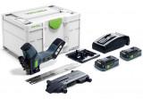 Festool ISC 240 HPC 4,0 EBI-Plus akkus szigetelőanyag fűrész (2 x 4.0 Ah Li-ion akkuval)