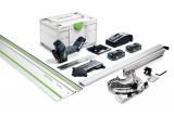 Festool ISC 240 HPC 4,0 EBI-Plus-XL-FS akkus szigetelőanyag fűrész (2 x 4.0 Ah Li-ion akkuval)