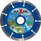 MAXON Classic 125x22,2mm szegmenses gyémánt vágótárcsa