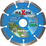 MAXON Hobby 125x22,2mm szegmenses gyémánt vágótárcsa