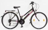 MTB kerékpár, RANGER 26/17 NÖI 21S 2017 FEKETE
