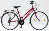 Trekking kerékpár, LANDRIDER 28/17 NÖI 21SP 17 PIROS