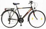 Trekking kerékpár, LANDRIDER 28/19 FFI 21SP 17 FEKETE