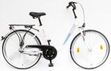 Női kerékpárok,  BUDAPEST B 26/18 GR 19 FEHÉR