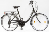 Női kerékpárok, BUDAPEST B 26/18 7SP 19 FEKETE
