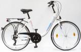 Női kerékpárok, BUDAPEST B 26/18 7SP 19 FEHÉR
