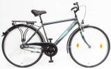 Férfi kerékpárok, BUDAPEST FFI 28/21 GR 2020 GRAFIT
