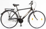 Férfi kerékpárok, BUDAPEST FFI 28/21 N3 2020 FEKETE