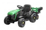 Hecht Akkumulátoros Gyerek Traktor Zöld