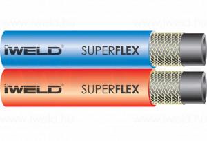 Párhuzamos tömlő, 6,3x6,3 SUPERFLEX termék fő termékképe