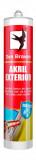 Den Braven Akril Exterior tömítő, szürke, 310 ml