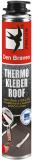 Den Braven THERMO KLEBER ROOF ragasztóhab, pisztolyos flakon, sárga, 750 ml