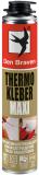 Den Braven THERMO KLEBER Maxi pisztolyhab, sárga, 870 ml