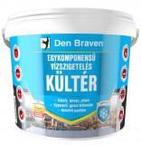 Den Braven Egykomponensű kültéri vízszigetelés, kék,  2,5 kg