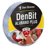 Den Braven DenBit ALUBAND PLUS tetőszigetelő bitumenszalag, alumínium, 50 mm x 10 m